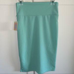 LulaRoe NWT Mint Green Cassie Pencil Skirt S